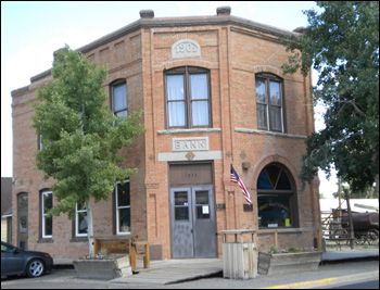 The Bank Museum in Meeteetse Wyoming